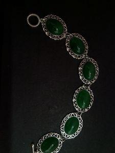 Gemstones bracelet - handmade