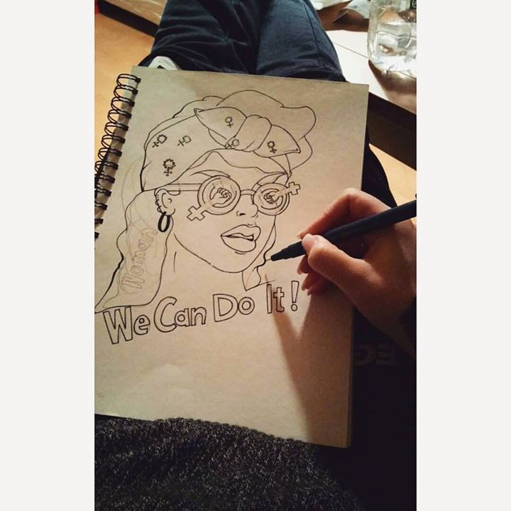 We Can Do It 1.0 - Lidia's Art and Drawings