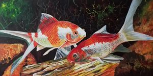 Goldfish Painting