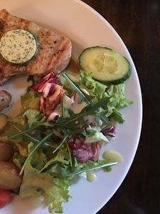Turkey with orange touch salat