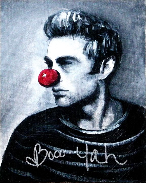james Dean boooo yah - Lias Custom Art