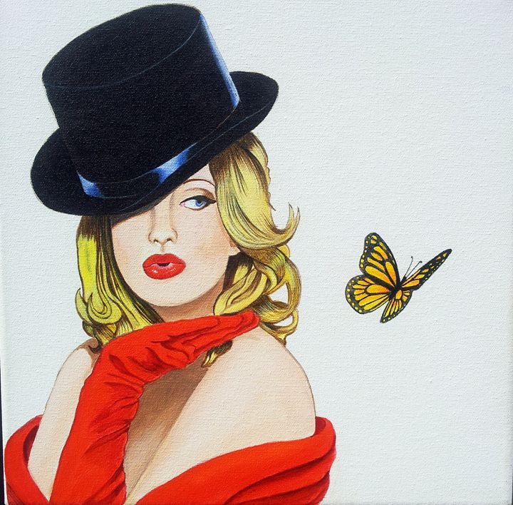 Girl and Butterfly - Margaret Zita Coughlan