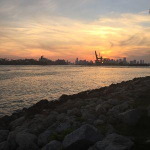 Sunset at South Beach