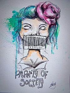 Property of society
