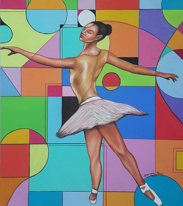 BALLERINA I AM - Marquiskreationz Fine Art