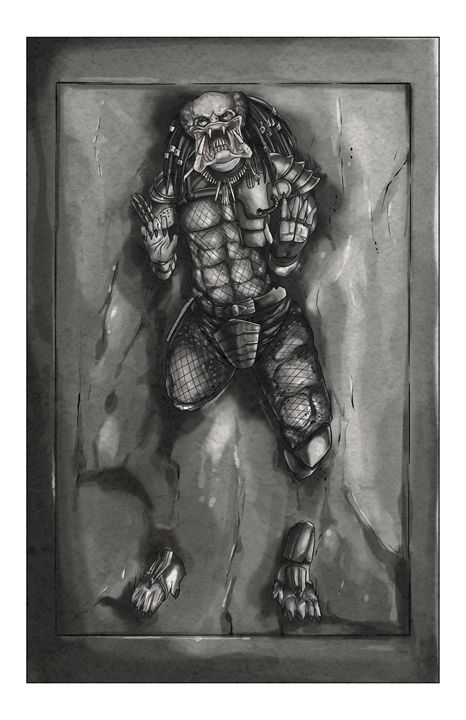 Hunter in Carbonite - masciajames