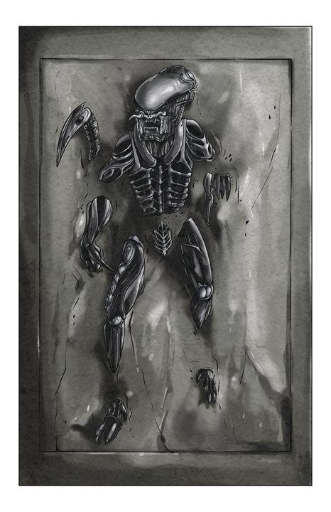Alien Frozen - masciajames