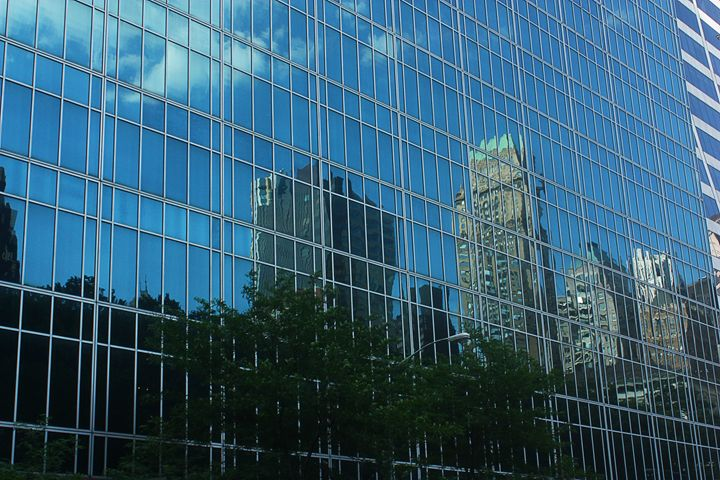 Building Reflection - MBenton Studios