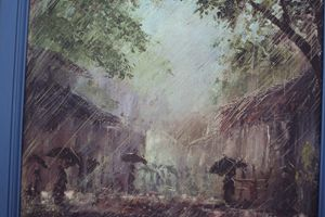 Raining in rural junction
