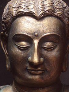 Buddha's bust