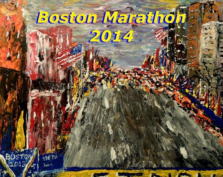Boston Marathon 2014 - Mark Moore