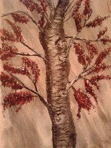 Winter Tree Holding On