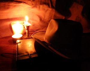 Candlelit Fedora