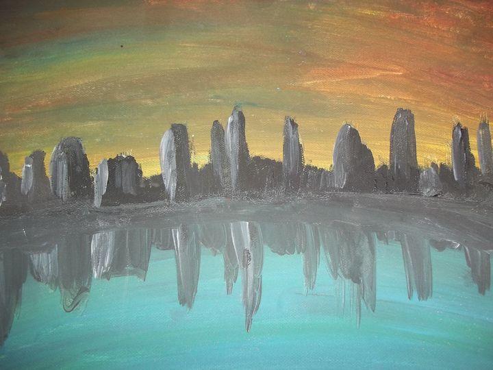 City Reflection - Nioami.