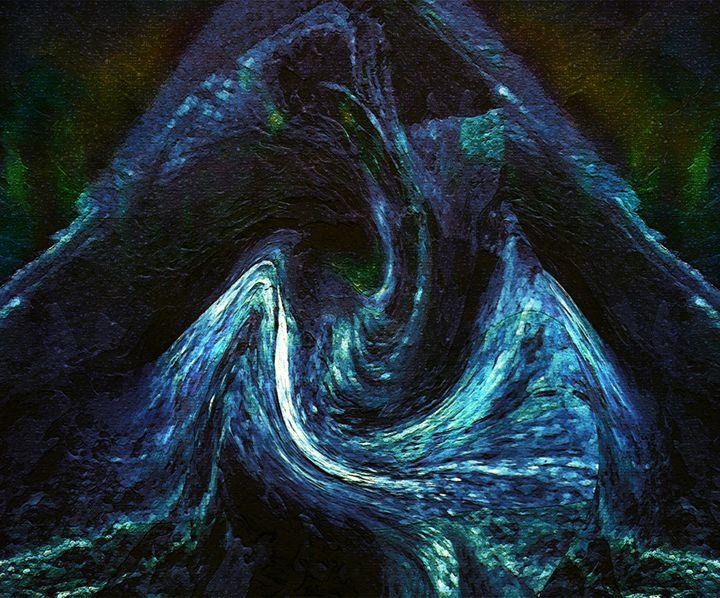 Seed of Doom II - A Dead Bird - Abstract and surreal art