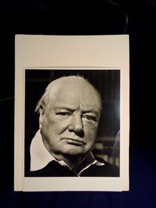 1951 original photograph of Winston