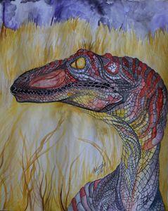 raptor in the grass. - Skylar Fox