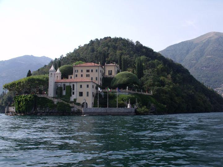 Villa del Balbi, Lake Como, Italy - David K. Myers Watercolor/ Photo Gallery