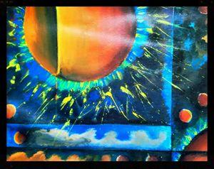 Celestial collision