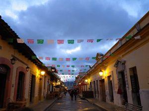 Street in Chiapas