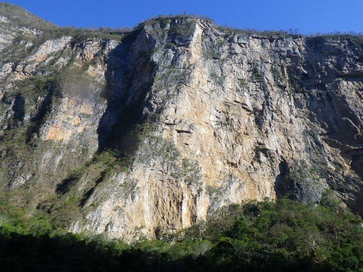 Grijalva River Cliff - Bernadette Doyle Art