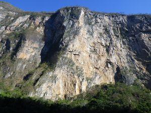 Grijalva River Cliff