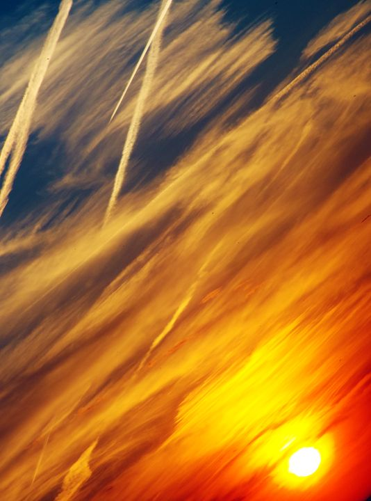 Burning Skies - Shayne's Photography