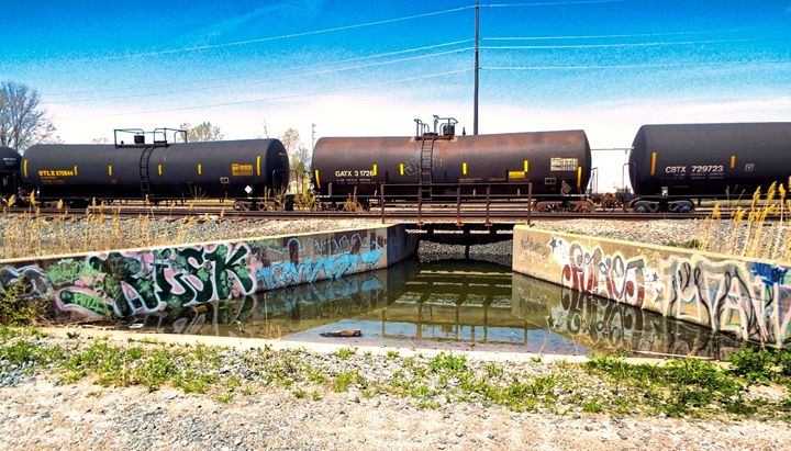 Rail Tanker - Shayne's Photography