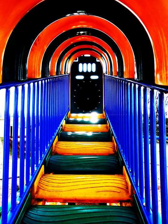 Color Tunnel - Shayne's Photography
