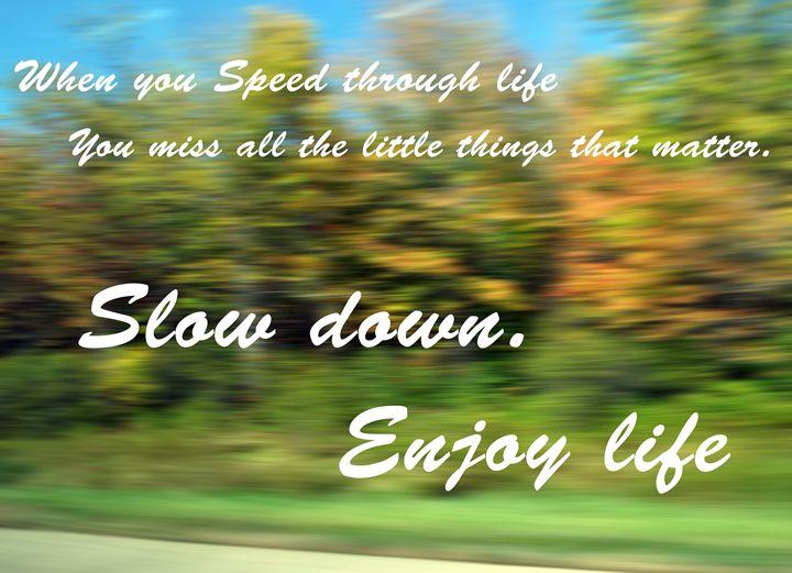 Enjoy Life - Shayne's Photography