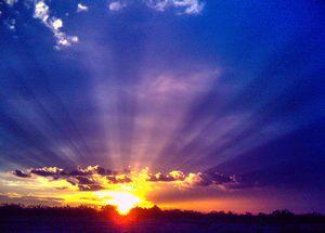 Sunrise in the Summer