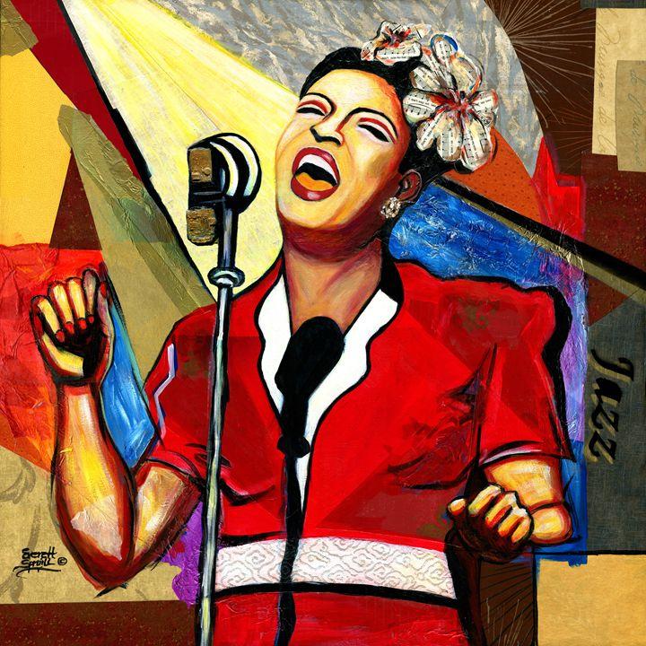 Billie Holiday - Artful Soul - Everett Spruill