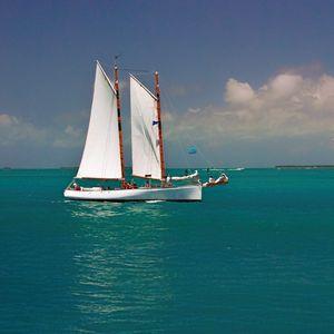 Key West Gaff Rigged Schooner - Welborne Fine Art