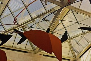 Calder Mobile in the East Wing