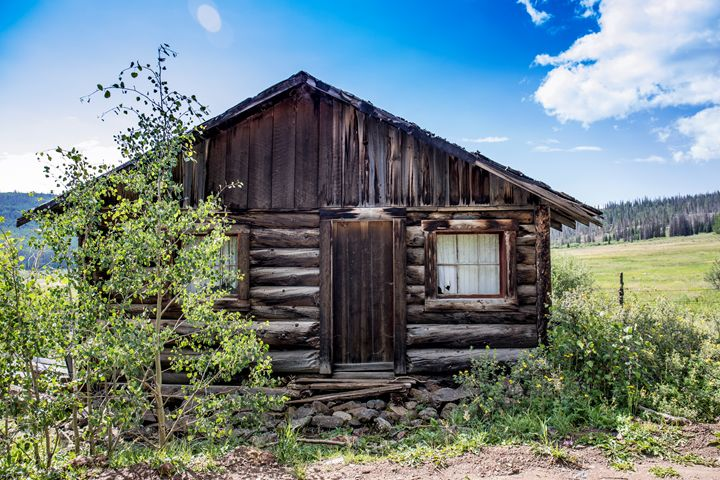 Abandoned Cabin - Aspen Willow Fine Art Photography Gallery