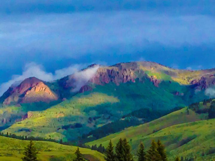 Mountain Morning - Aspen Willow Fine Art Photography Gallery
