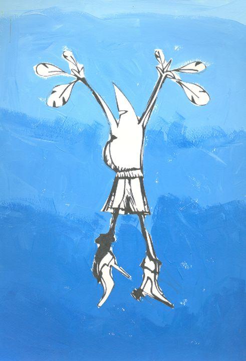 flying man - https://www.artpal.com/monkeey/