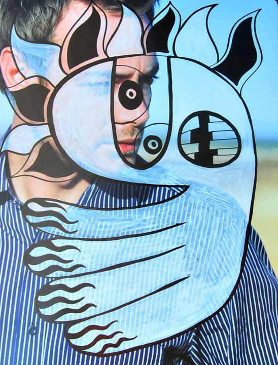 man poster 2 - https://www.artpal.com/monkeey/