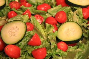 Healthy Green Salad.