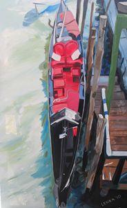 Red Gondola No.2 (January)