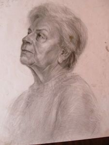Study of an old woman