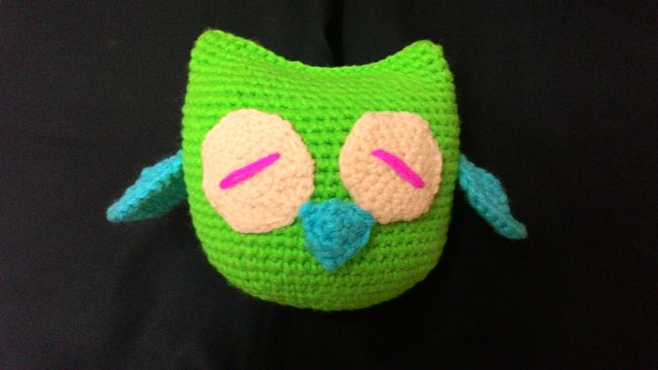 Nok the sleepy owl - Vini Art