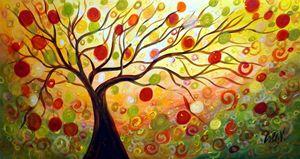 Fall Music Tree