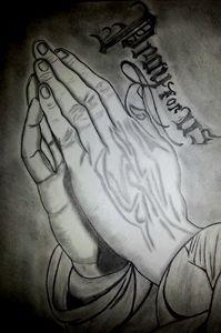 Holy Praying Hands