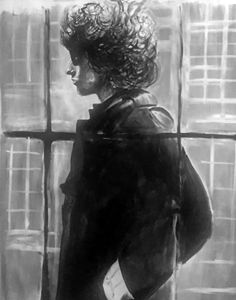 Bob Dylan portrait