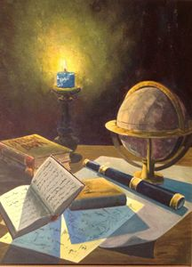 Candle light study