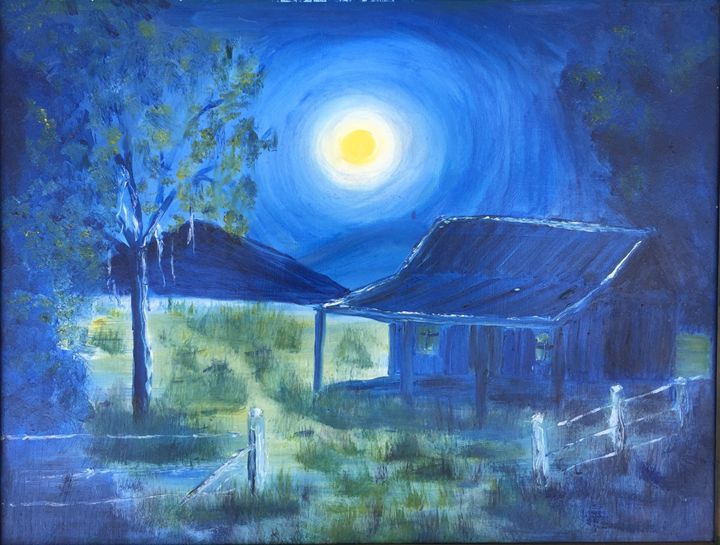 Australian Farmers Hut - Dorothy Hollings