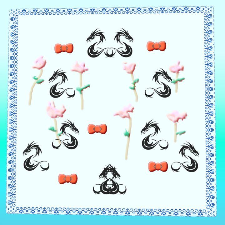 10 Dragons 7 Flowers & 5 Bows - Cody Kremer Molina