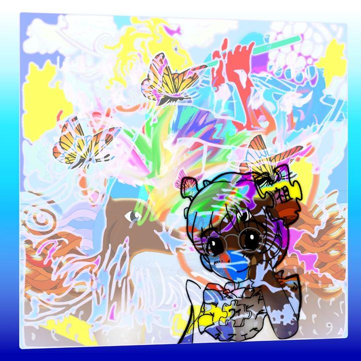 Pan on The Flute w/ Chibi & Horses - Cody Kremer Molina