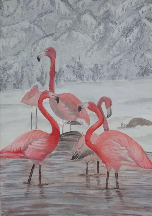 Flamingo - creatorunique